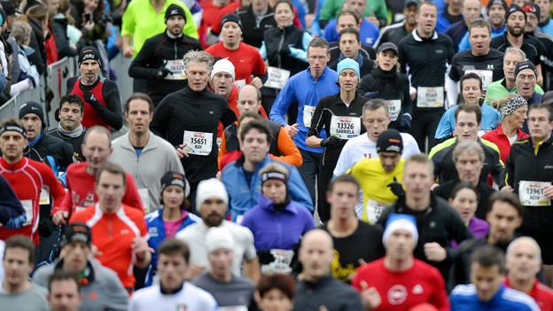 Teilnehmerrekord: 20'771 Anmeldungen für den 36. Silvesterlauf.