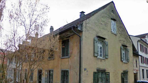 Wildbachstrasse 24: Dieses Haus verschwindet.