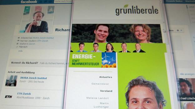 Flauer Wahlkampf im Internet.