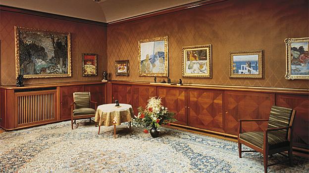 Oberlichtsaal der Villa Flora