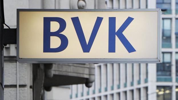 Das Logo der BVK.
