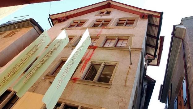 Wo alles begann: Das Dada-Haus an der Spiegelgasse 1 in der Zürcher Altstadt.