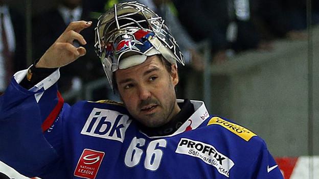 Ausrangiert: Flyers-Goalie Ronnie Rüeger