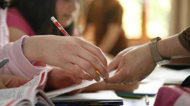 Schulstunden sind anspruchsvoll für Lehrer