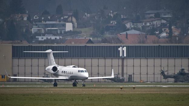 Privatjets sollen künftig auf dem Flugplatz Dübendorf starten und landen