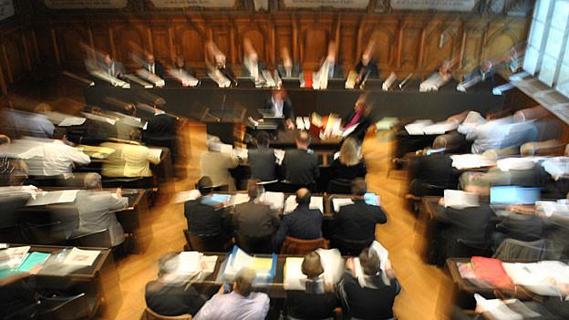 Umstrittenes Sparprogramm: Der Schaffhauser Kantonsrat hat die Debatte aufgenommen