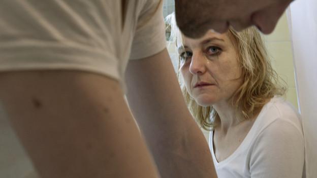 Die Flucht ins Frauenhaus ist für viele betroffene Frauen der letzte Ausweg.