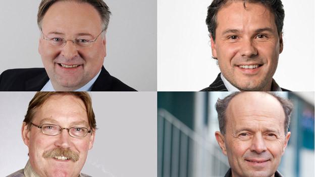 Noch kein Siegerlachen nach dem 1. Wahlgang in Zürich.