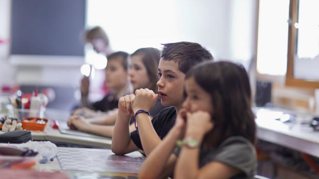 1650 Schüler mit Lernschwierigkeiten wurden in normale Klassen integriert.
