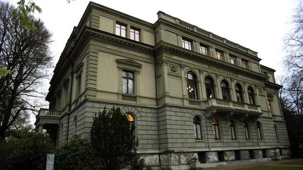 Bezirksgebäude Winterthur: Hier steht der Beschuldigte vor seinen Richtern.