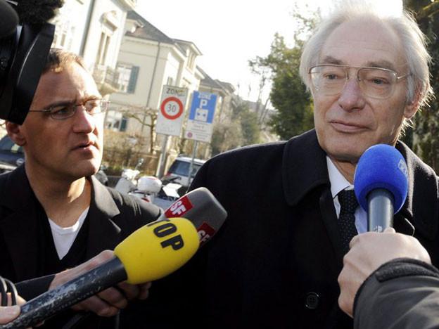 Rolf Erb vor dem Bezirksgericht Winterthur