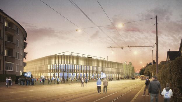 Im Herbst 2013 stimmen die Zürcherinnen und Zürcher über den 230 Millionen Kredit fürs neue Stadion ab.