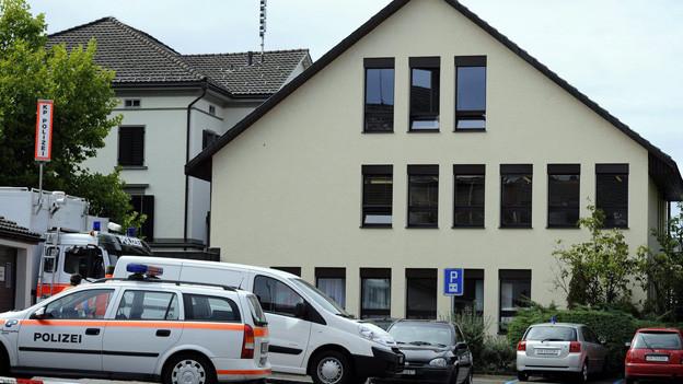 Das Gemeindehaus Pfaeffikon, wo die Bluttat geschah
