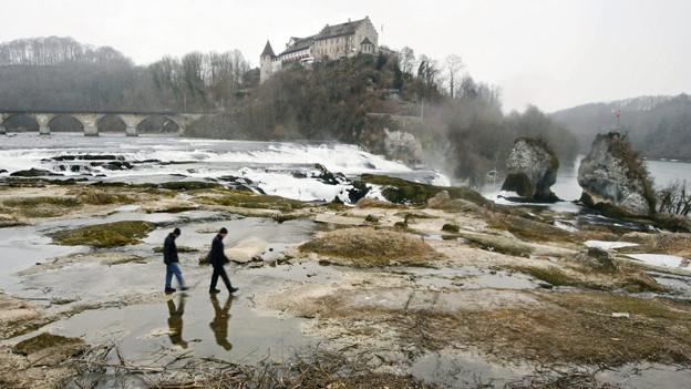 Niedrigwasser soll es am Rheinfall nur aus natürlichen Gründen geben.