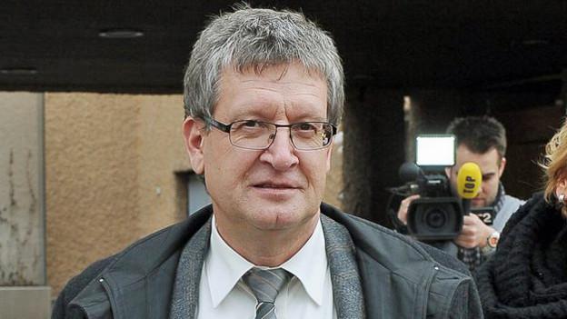 Staatsanwalt Roland Geisseler fordert die Höchstrafe für den Doppelmord.