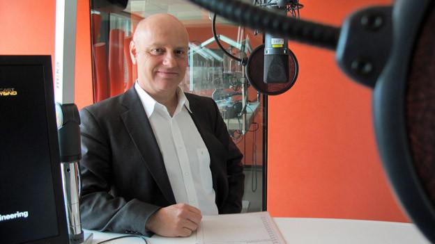 Hochbauvorsteher André Odermatt betont: Das neue Fussballstadion hat kein Sicherheitsrisiko.