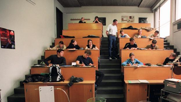 Noch hat es Platz. Ab 2030 wird es jedoch eng an Zürcher Berufs- und Mittelschulen.