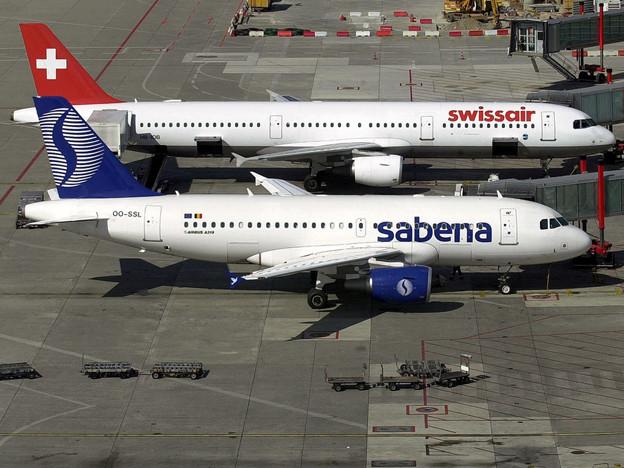 Doppelte Pleite: Swissair und Sabena