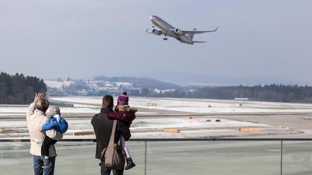 Pistenausbau Zürich: Mehr Flugzeuge fliegen sehen.