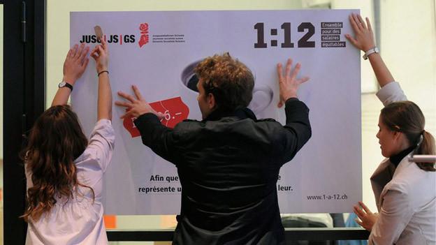 Freut den Zürcher Regierungsrat gar nicht: Die «1:12»-Initiative.