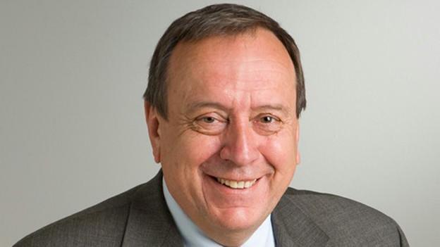 Erhard Meister sass zehn Jahre lang für die SVP im Schaffhauser Regierungsrat.