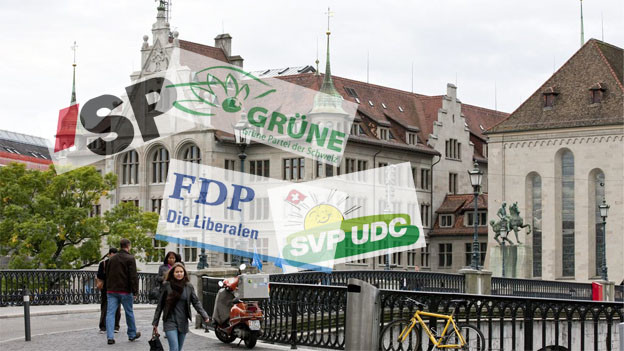Alle wollen ins Zürcher Stadthaus - Trotzdem sind die Parteien auf Allianzen angewiesen.