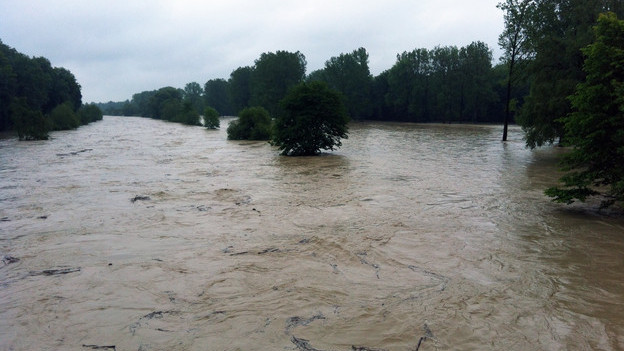 Hochwasser an der Thur.