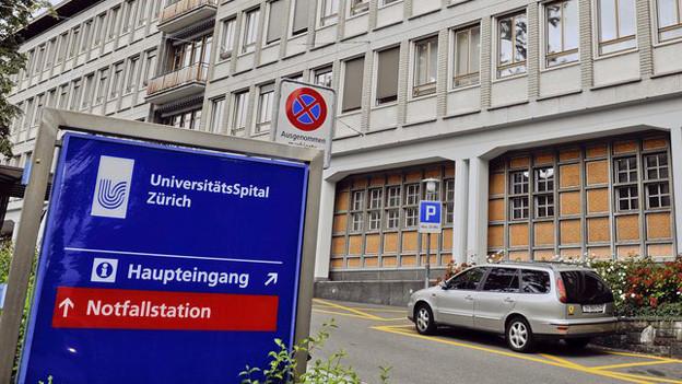 In den Aufwachräumen des Zürcher Universitätsspitals ist es zu den Übergriffen gekommen.
