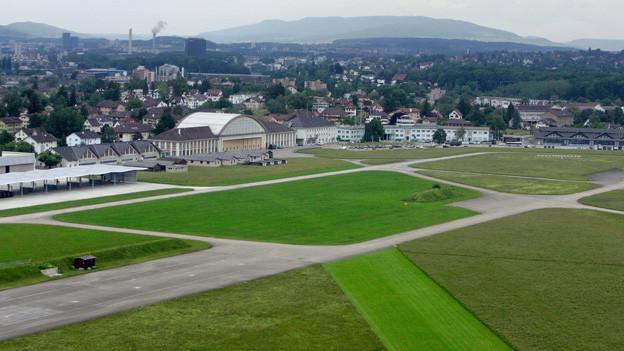 Auf einem Teil dieses Geländes soll nach Wunsch des Kantons Zürich der Innovationspark entstehen.
