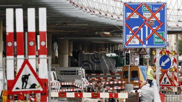 Ob diese Baustelle bei der Hardbrücke von Preisabsprachen betroffen war, wird die Stadt Zürich nie erfahren.