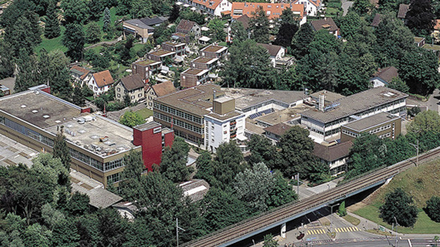 Das Areal der Firma Landert in Bülach.