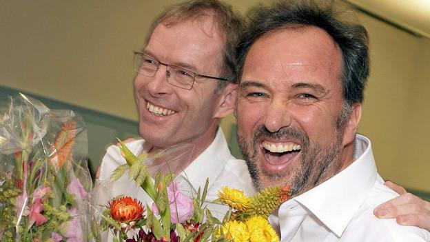Grosser Jubel beim frisch nominierten Stadtratskandidaten Markus Knauss