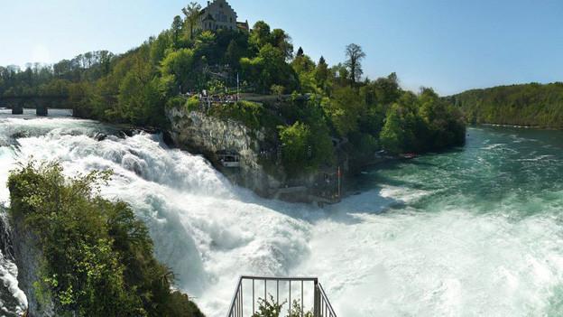Am Rheinfall könnten bald weniger Steuern sprudeln