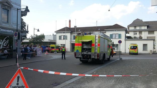 Bahnhof Uster nach Bombendrohung evakuiert