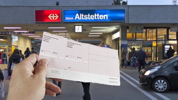 Bahnhof Altstetten.