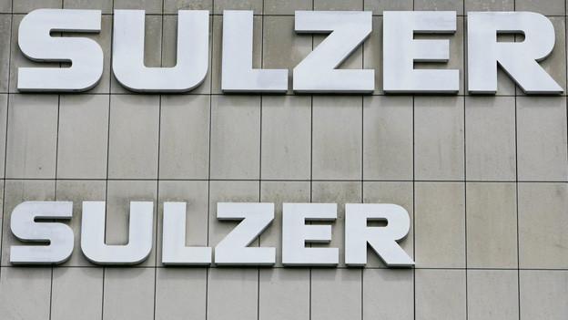 Der Industriekonzern Sulzer in Winterthur muss Gewinneinbussen hinnehmen.