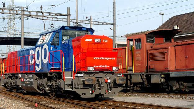 Müssen in Zukunft immer abgeschlossen werden: Rangier-Lokomotiven.