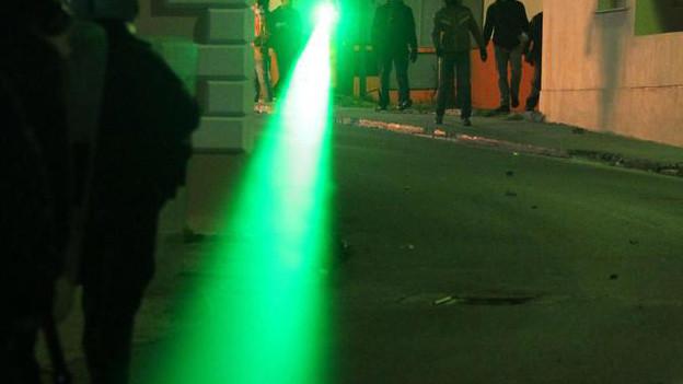Gefährlich: Laser-Pointer