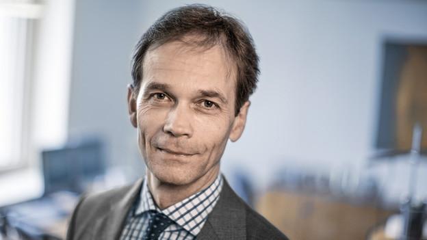 Für CEO Martin Scholl ist ZKB auf Kurs