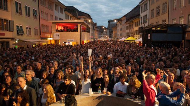 Das Publikum kam in Scharen an die Winterthurer Musikfestwoche