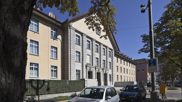 Im Bezirksgebäude Zürch fiel das Urteil über den Erpresser