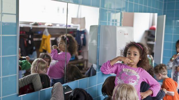 Die Stadt Zürich hat die dichteste Betreuungsquote in der Schweiz