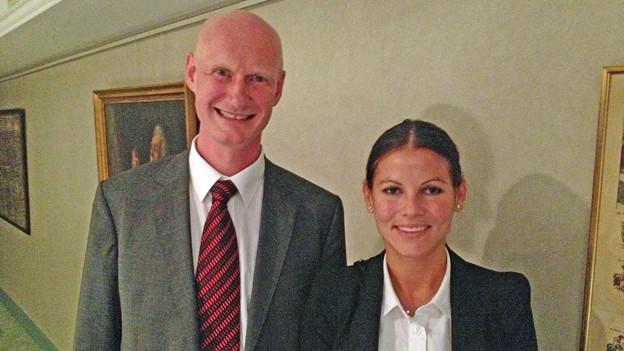 Nina Fehr und Roland Scheck sind die SVP-Kandidaten für die Zürcher Stadtratswahlen.