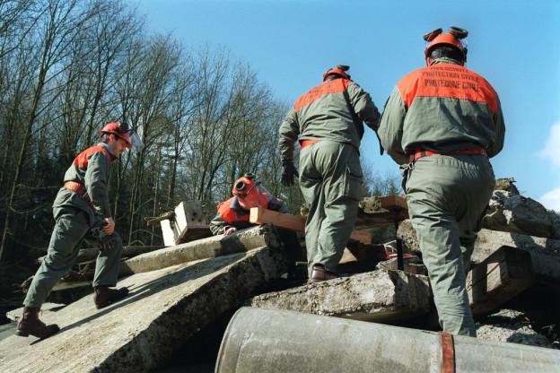Zivilschützer setzten bei ihrer Arbeit Asbest frei. Sie waren ungenügend instruiert.