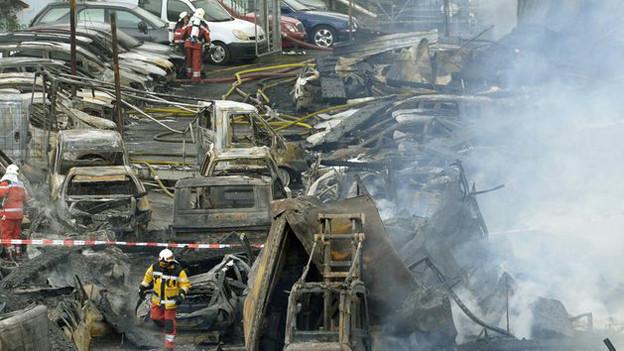 War es Brandstiftung in Schlieren? Die Brandursache ist nach wie vor unklar.