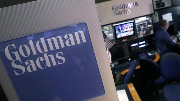 Im Visier der Gewerkschaft: die Bank Goldman Sachs
