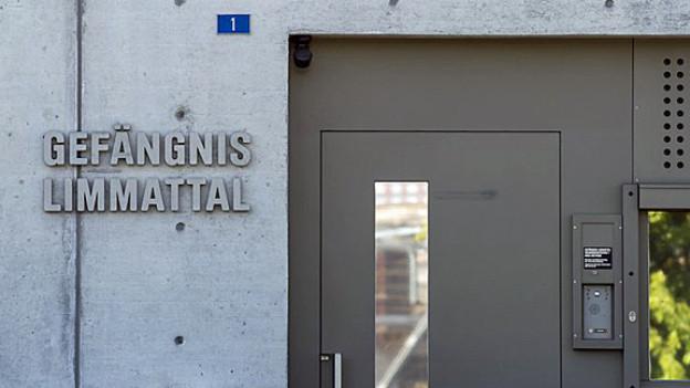 Hier bleibt Carlos vorerst: Gefängnis Limmattal.