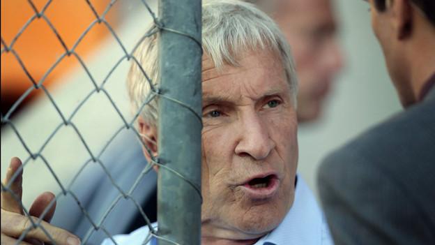 Hinter Gitter: Manager-Legende Erich Vogel sitzt in U-Haft.