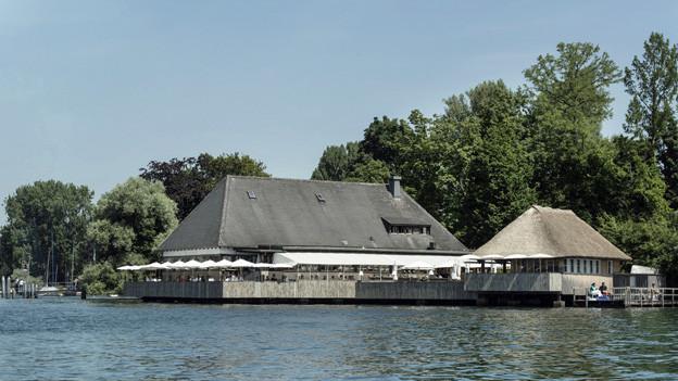 Auch der Neubau erhält eine Terrasse: Das heutige Restaurant «Fischstube» am Zürichhorn