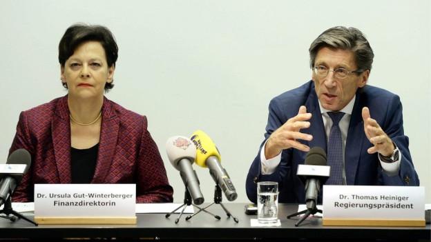 Mussten das Minus erklären: Ursula Gut und Thomas Heiniger (beide FDP).